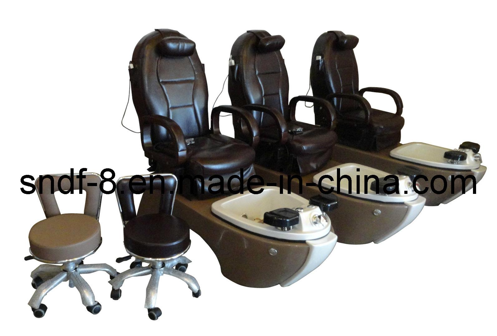 Silla del masaje del balneario de pedicure del sal n 20 for Sillas para pedicure