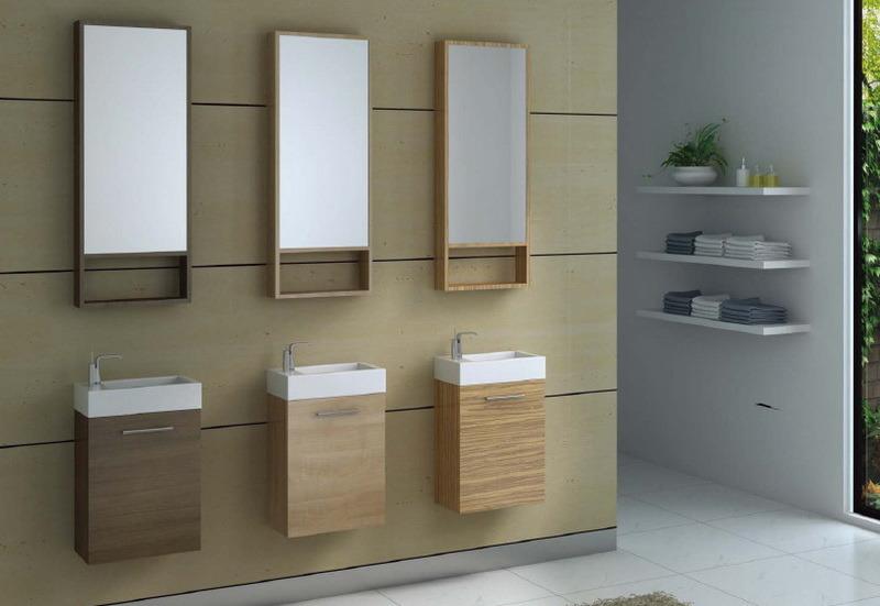 Module de salle de bains mini vanit 460 module de for Mini salle de bain
