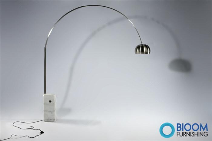 lampe de plancher d 39 achille castiglioni flos arco bl6001f lampe de plancher d 39 achille. Black Bedroom Furniture Sets. Home Design Ideas