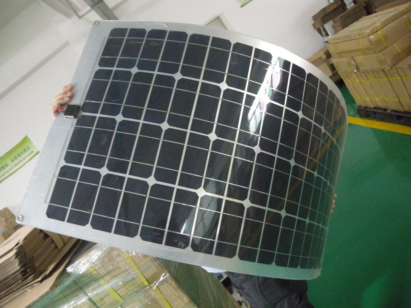 100w pannelli solari flessibili xhhf100 100w pannelli for Pannelli solari solar