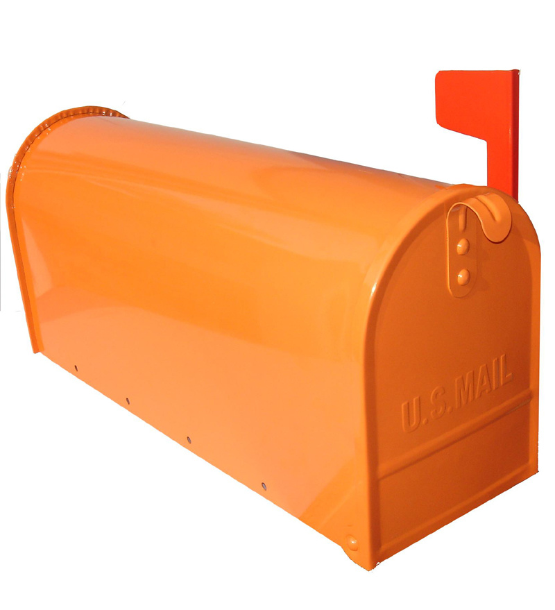 Amerikanisches style mailbox letterbox post box mit very for American briefkasten