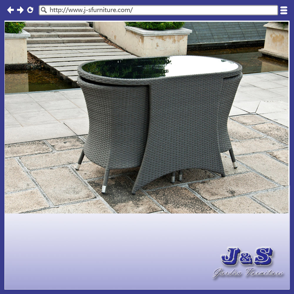 Tableau en verre de meubles vivants ext rieurs de patio for Meuble johnson