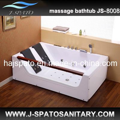 Doppia vasca da bagno calda superiore della Jacuzzi 2013, vasca da bagno della Jacuzzi (JS-8008 ...