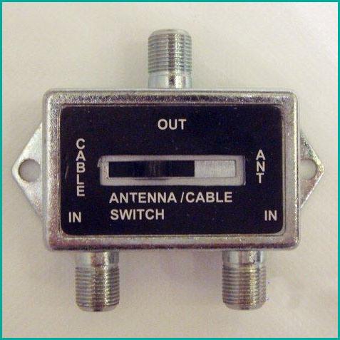 Antena conmutador antena cable splitter un interruptor for Precio cable antena