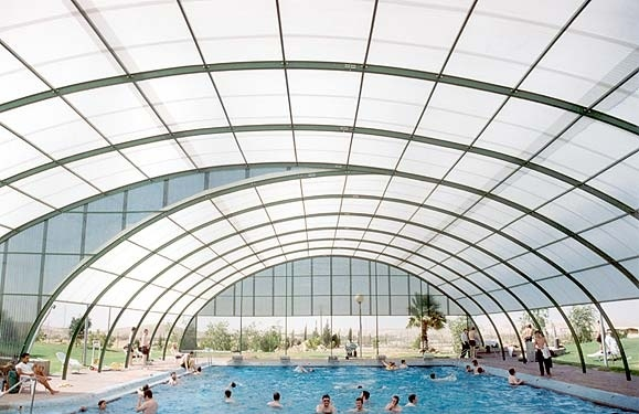 Cubierta de la piscina del policarbonato hsl s01 - Precio del policarbonato ...