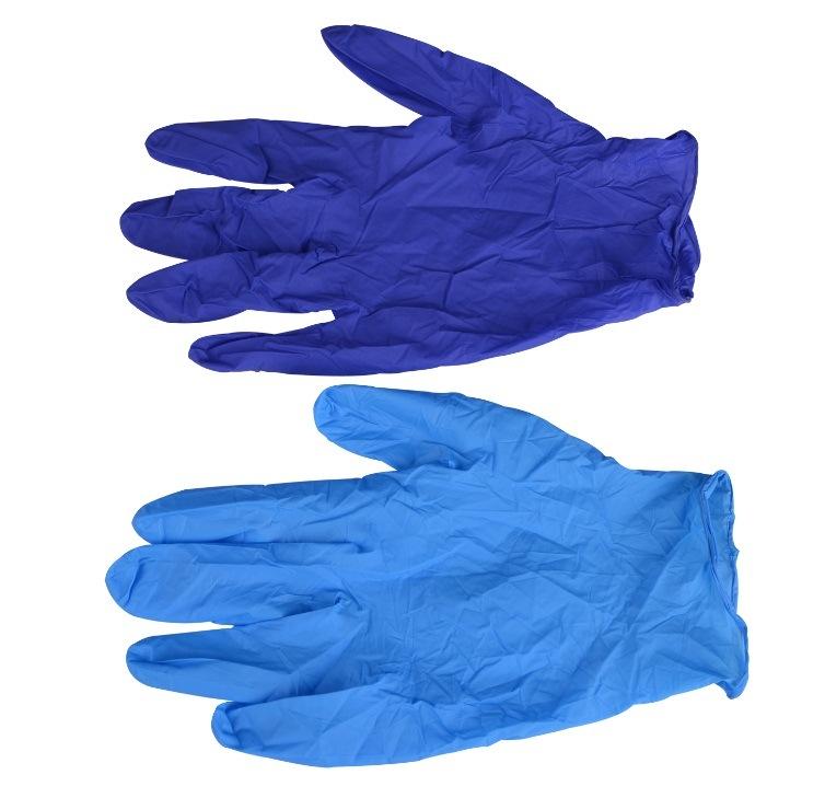 Облачение резиновых перчаток и одежды