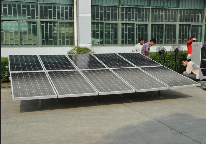 10kw outre de syst me de panneau solaire de r seau 10000w syst mes domestiques solaires groupe. Black Bedroom Furniture Sets. Home Design Ideas