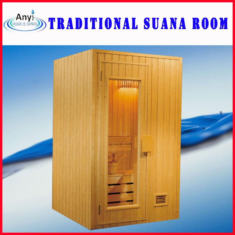 Piccola stanza asciutta di sauna stanza domestica di for Calcolatore del prezzo della costruzione domestica