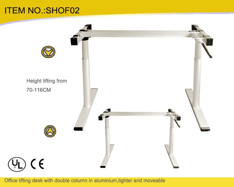 b ti lectrique moderne de bureau d 39 ordinateur de meubles de bureau avec la hauteur ajustable. Black Bedroom Furniture Sets. Home Design Ideas