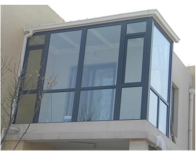 Ventana de aluminio del balc n del alto rendimiento for Puerta balcon de aluminio