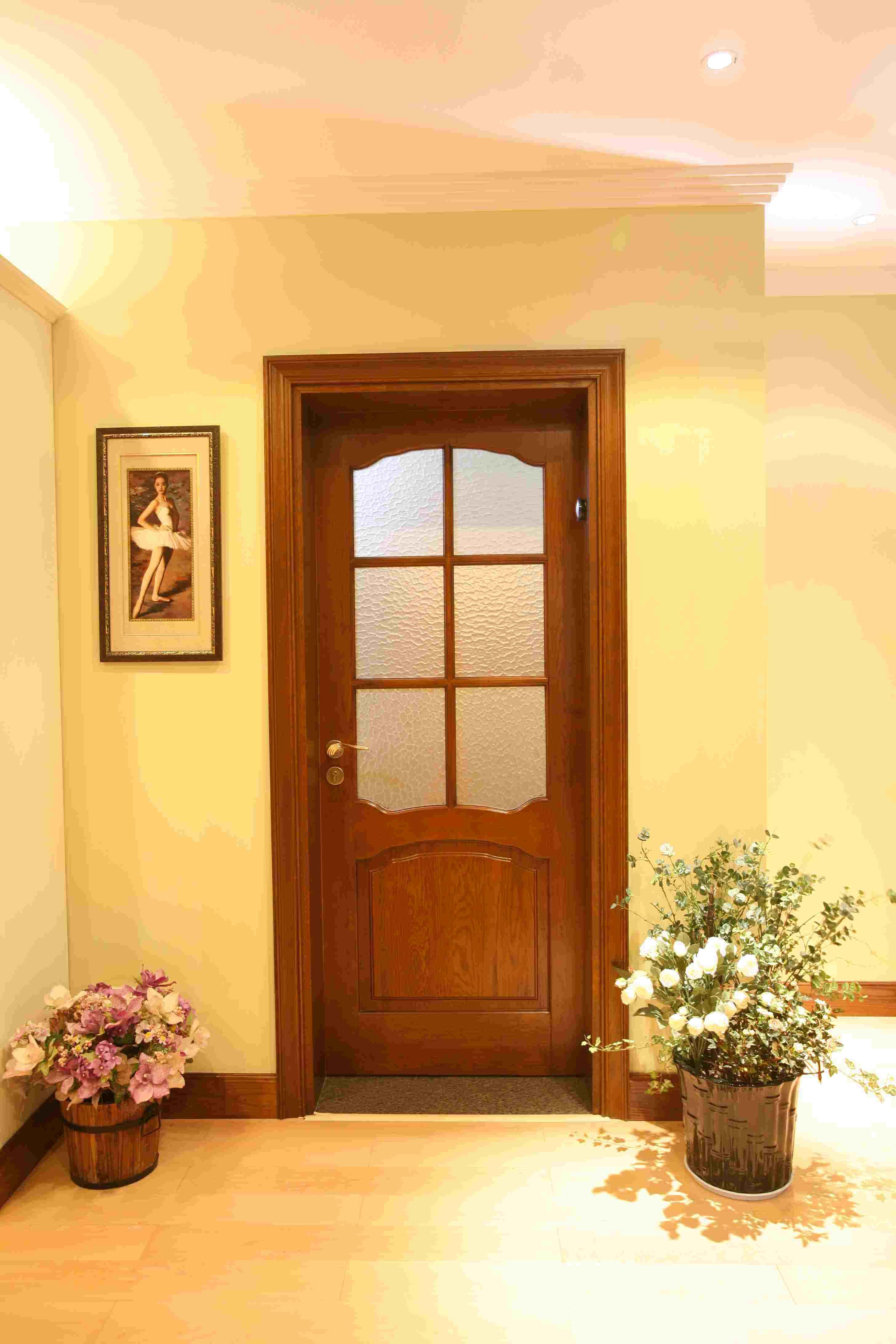 Puerta de madera satinada 922 puerta de madera for Puertas de madera en oferta