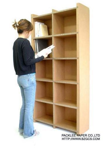 Estantes para libros acanalados j019 estantes para - Estantes para libros ...