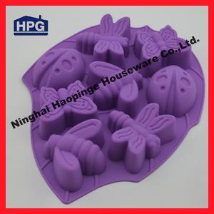 Cuve de pain du g teau mould silicone de silicone de forme for Comment enlever du silicone sec