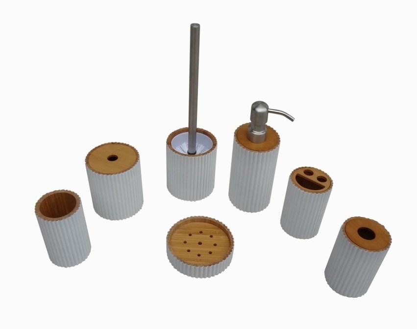 de salle de bains jd br029 accessoires en bambou de salle de - Accessoire Salle De Bain Bambou