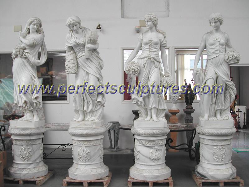 talla escultura de mrmol estatua de piedra para decoracin de jardn syx