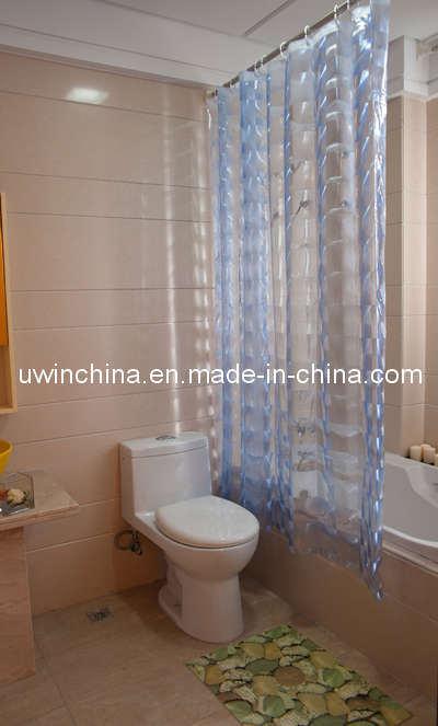Cortinas de ducha de la cortina del cuarto de ba o del 100 - Cortinas para cuartos de bano ...