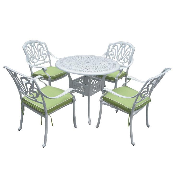 Fundici n de aluminio de jard n al aire libre juego de for Aluminio productos de fundicion muebles de jardin