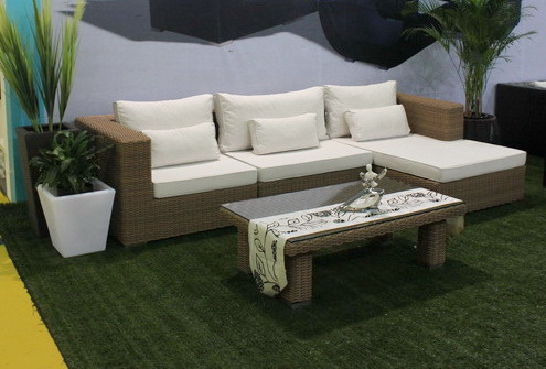 Arredamento moderno giardino in vimini patio rattan for Arredamento made in china