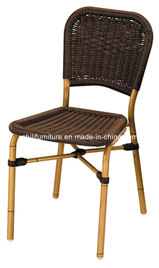 Silla de mimbre del patio silla de la rota muebles de for Sillas para patio