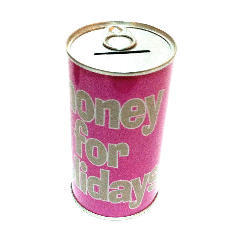 Bo te de pi ce de monnaie tirelire bidon d 39 argent bo te de pi ce de monn - Tirelire boite de conserve ...