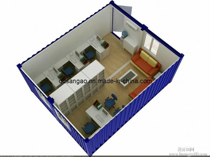 Casa dos combinada del contenedor casa dos combinada del - Precio casa contenedor ...