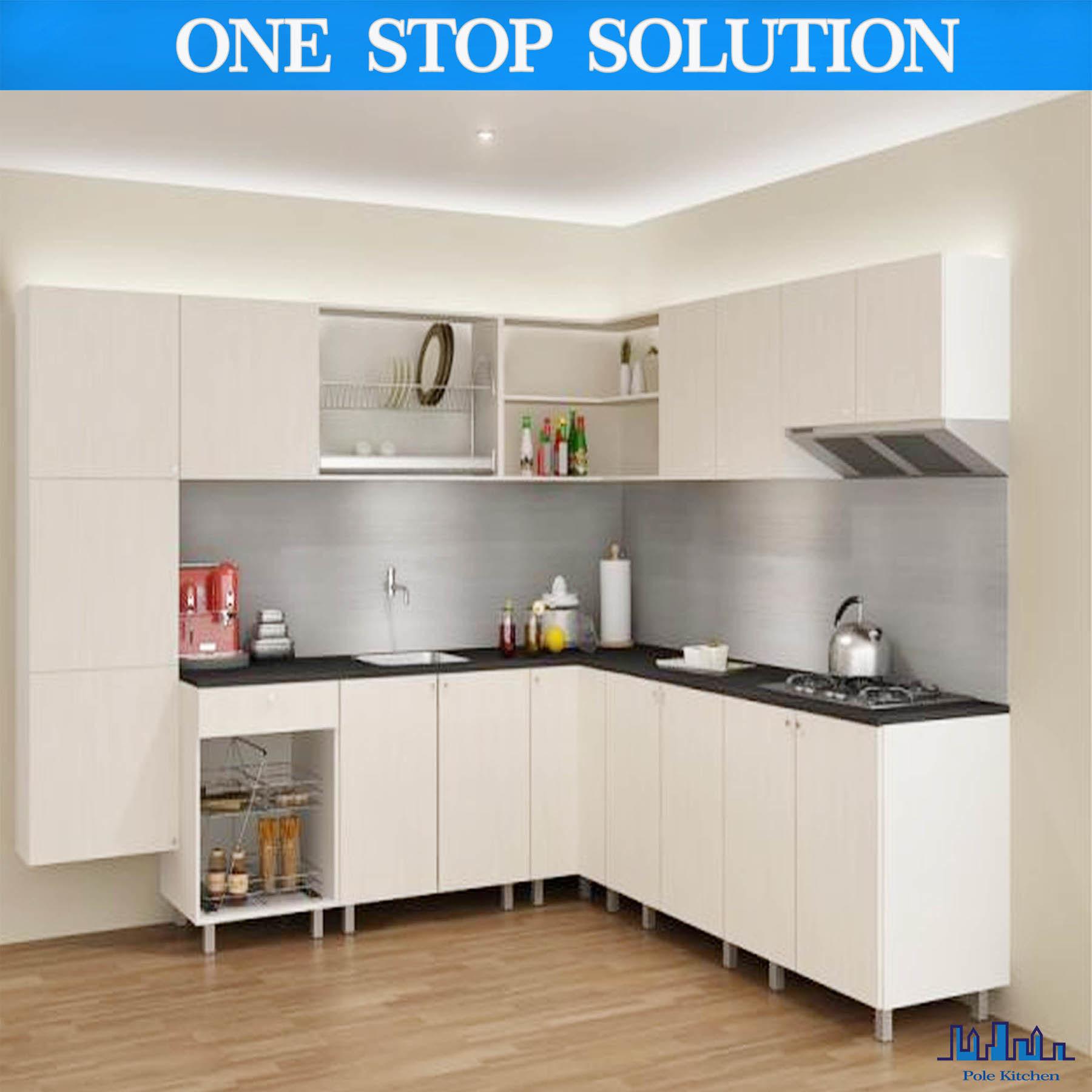 2015 moderno laminado uv del gabinete de cocina con el for Gabinetes de cocina modernos 2016