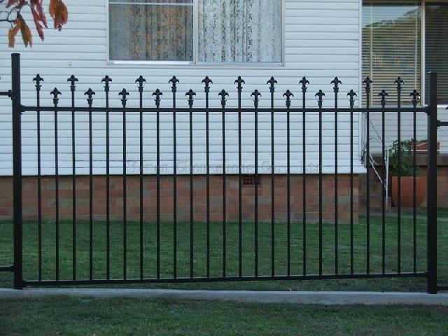 Cerca decorativa do ferro, cerca do jardim (CSYLW1Z) –Cerca