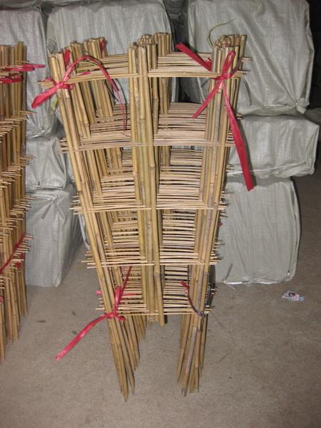 Treillis bambou - Faire un treillis en bambou ...