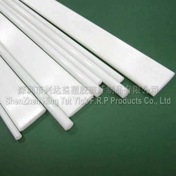 Varillas de fibra de vidrio blanco y tira para la cortina - Varillas de fibra de vidrio ...