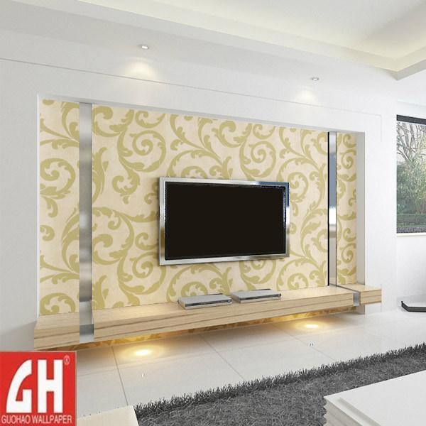 Carta di moda ed elegante di parete per la parete della - Carta parete adesiva ...