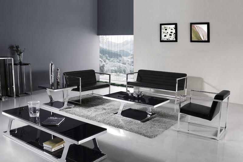 Muebles del metal del hogar sof de la sala de estar for Muebles del hogar