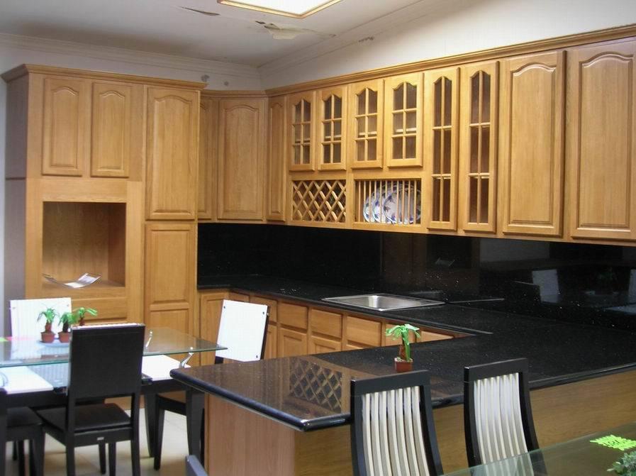 Gabinete de cocina roble natural gabinete de cocina for Color roble natural