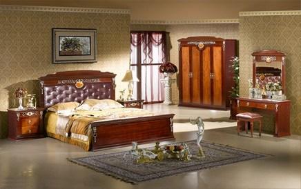 Jogo de quarto de madeira de wsapeli 5180 todo o banco for Mobilia quarto casal usada