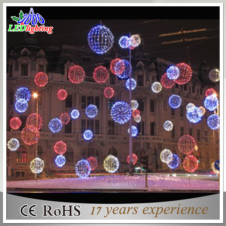 Foto de luces grandes de las bolas del led 3d de la - Bolas de navidad grandes ...