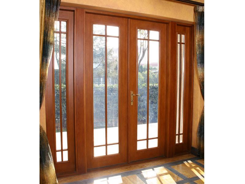Puerta francesa de aluminio de madera puerta francesa de for Precio de puertas francesas