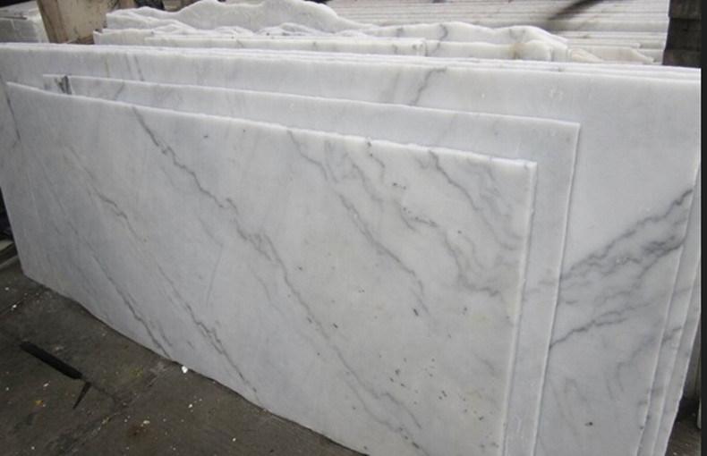 Par Marble Floor : La chine carrare white marble pour floor et wall