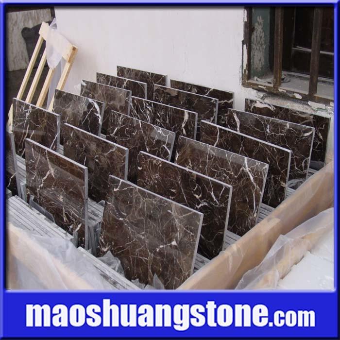 Mattonelle di marmo scure cinesi di Emperador – Mattonelle di marmo scure cinesi di ...