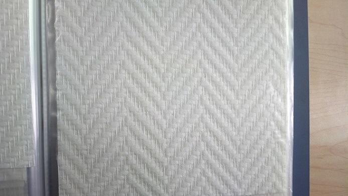 Material de la decoraci n de la fibra de vidrio pa o de - Papel pintado aislante termico ...