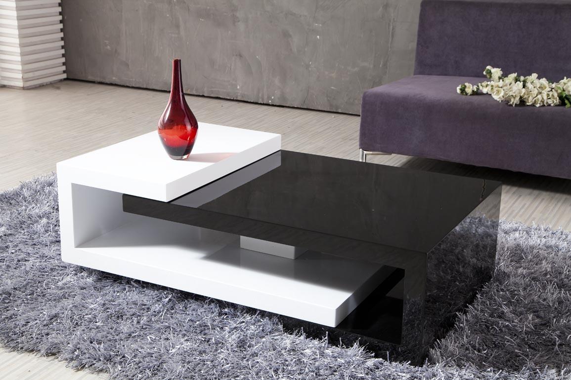 Mesa de centro de madera modernos 082 mesa de centro - Mesa de centro giratoria ...