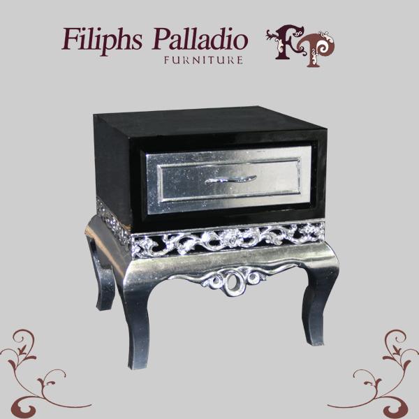 Nieuw klassiek meubilair het meubilair van de slaapkamer het kabinet van het bed 1005ctg - Meubilair van de ingang spiegel ...