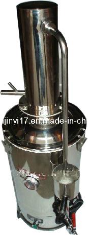 hsz edelstahl wasser destillierapparat wasser destillation ger t foto auf de made in. Black Bedroom Furniture Sets. Home Design Ideas