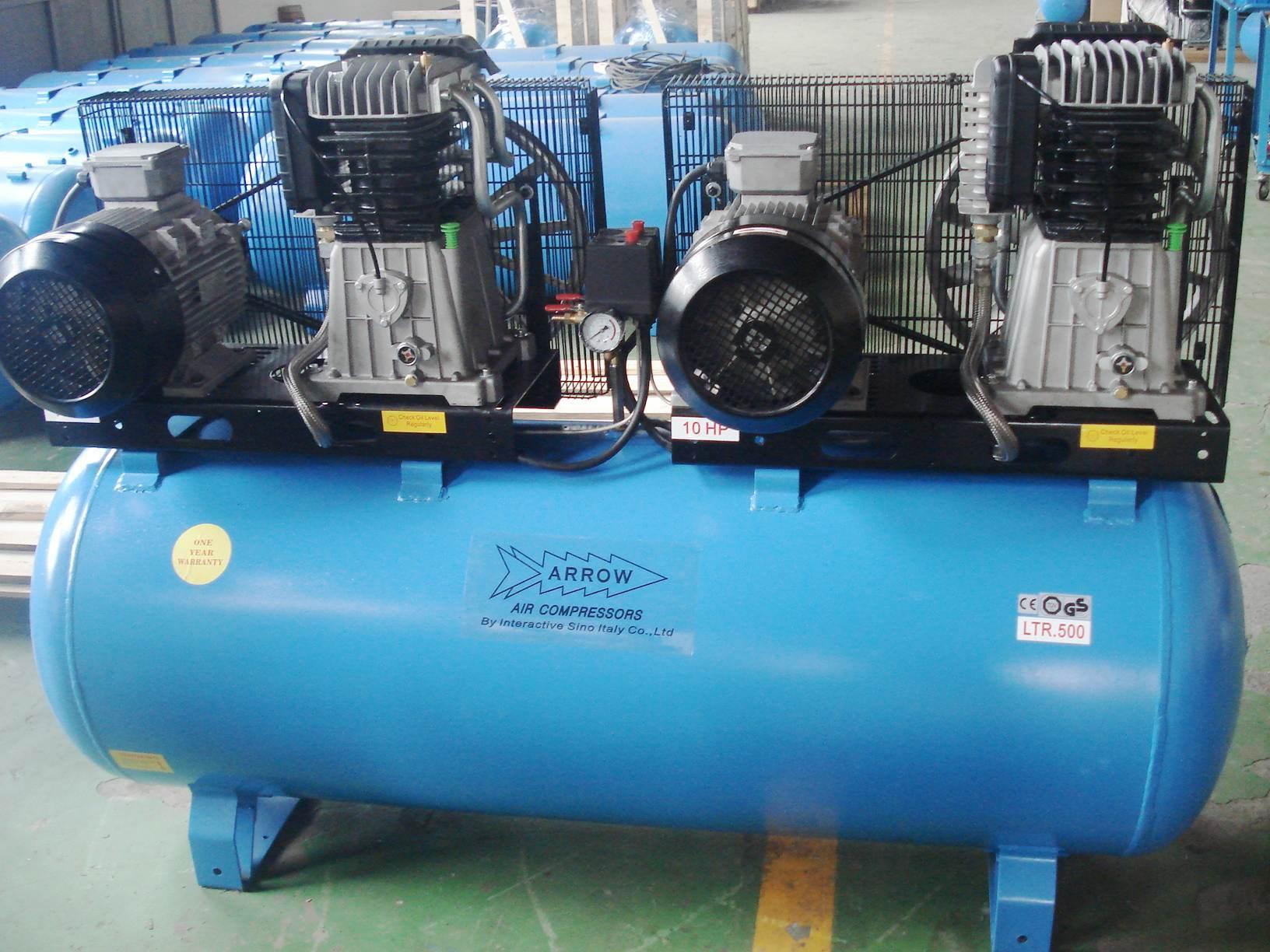 Compresor de aire principal dos 500l 10hp 2k300 2 - Precio de compresores de aire ...