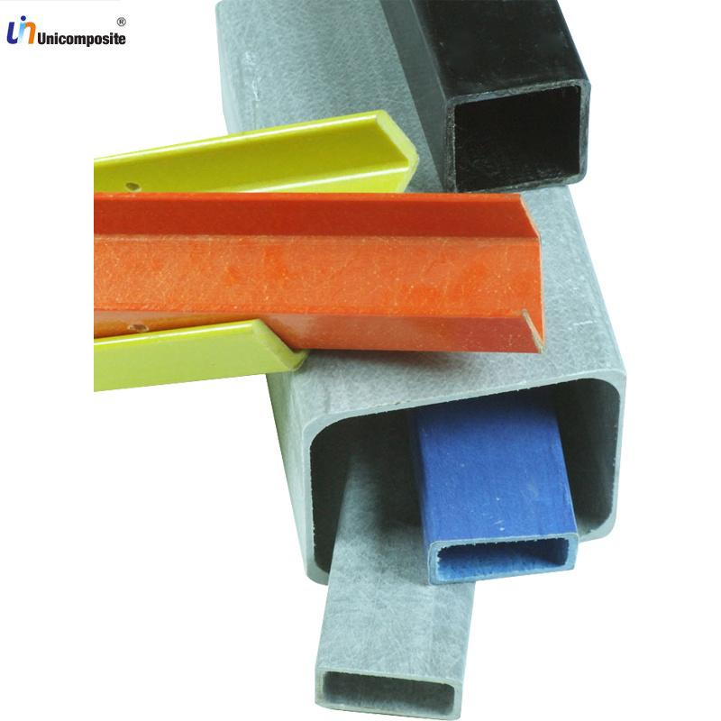 tube rectangulaire uv de plastique renforc par fibre de verre de protection tube rectangulaire. Black Bedroom Furniture Sets. Home Design Ideas