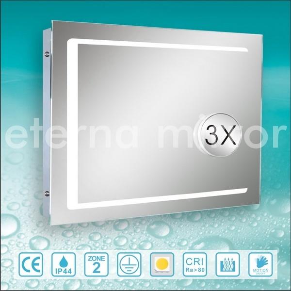 Miroir de la salle de bains led avec le miroir d for Miroir salle de bain avec television