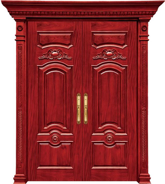 Puertas de madera originales dobles para los cuartos for Puertas de madera de ocasion