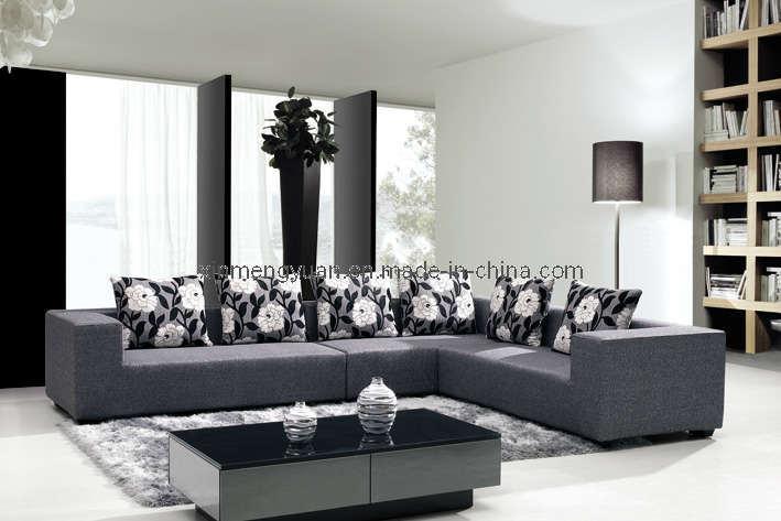 Sof moderno elegante de la tela a52 sof moderno for Sofa elegante