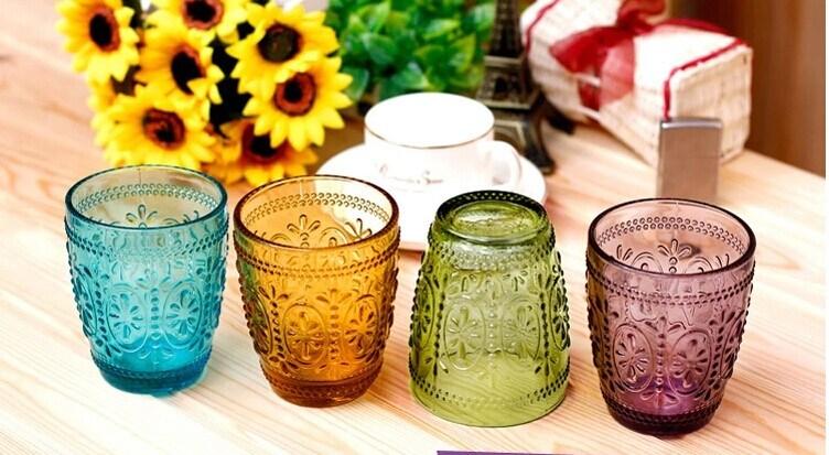 slido copa de cristal en color vaso taza de caf taza de agua u slido copa de cristal en color vaso taza de caf taza de agua por