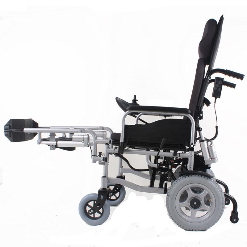 frein automatique de fauteuil roulant liftable d 39 alimentation lectrique de repose pieds bz. Black Bedroom Furniture Sets. Home Design Ideas