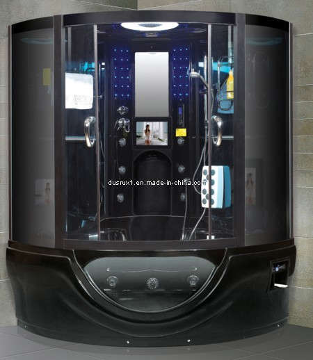 De zaal van de douche van de stoom met 3pcs tv a 082 de zaal van de douche van de stoom met - Douchekamer model ...