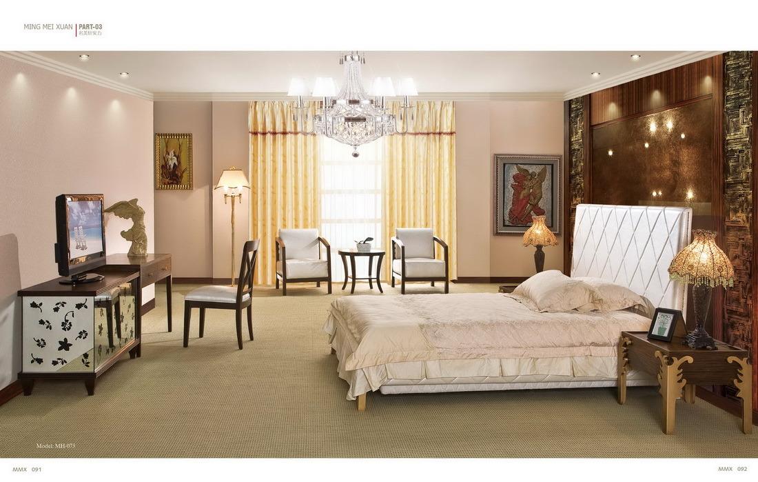 De houten reeks van het meubilair van de zaal van het hotel mh 073 de houten reeks van het - Versiering van de zaal van het tienermeisje van ...